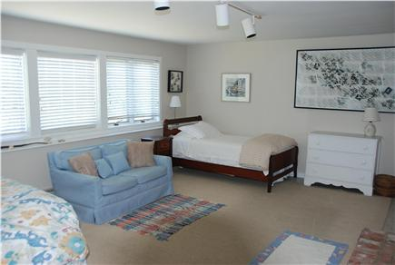 Chilmark Martha's Vineyard vacation rental - Extra twin bed and flat screen TV for streaming