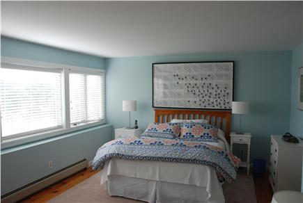 Chilmark Martha's Vineyard vacation rental - Queen sized bed with lower level privacy