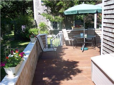 Oak Bluffs Martha's Vineyard vacation rental - More of wrap around deck