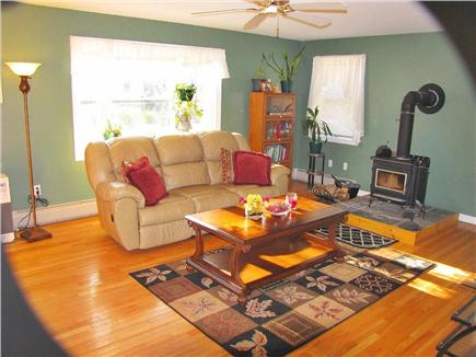 Oak Bluffs Martha's Vineyard vacation rental - Large living room with plenty of sunlight and comfort.