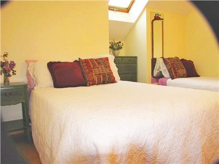 Oak Bluffs Martha's Vineyard vacation rental - Upstairs bedroom with full and twin beds.