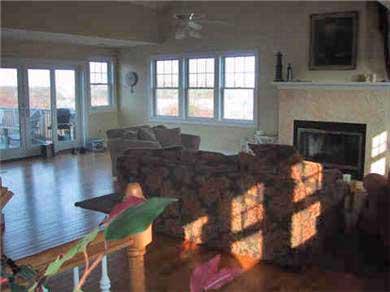 Edgartown Martha's Vineyard vacation rental - Spacious Living room!