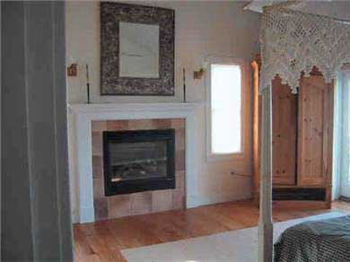 Edgartown Martha's Vineyard vacation rental - Master Suite with fireplace