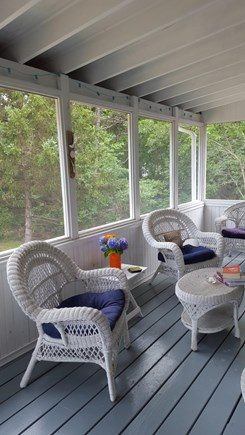 Katama - Edgartown, Edgartown Martha's Vineyard vacation rental - Porch