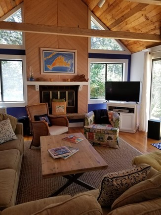 Katama - Edgartown, Edgartown Martha's Vineyard vacation rental - Great family room for relaxing!