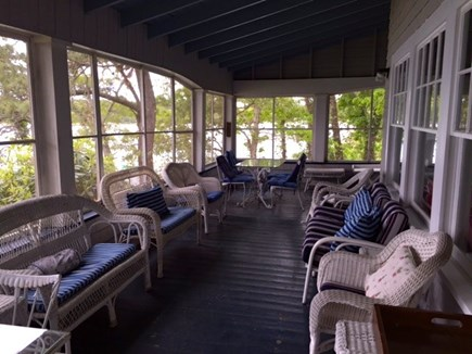 Vineyard Haven Martha's Vineyard vacation rental - Screened Porch