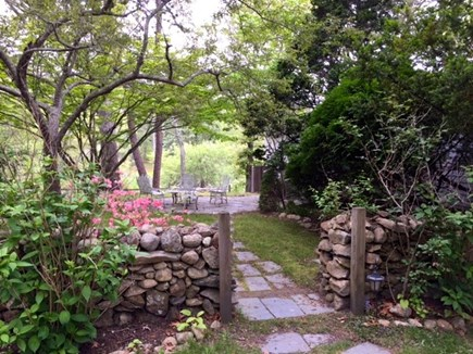 Vineyard Haven Martha's Vineyard vacation rental - Entrance to Cottage