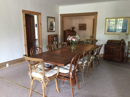 Vineyard Haven Martha's Vineyard vacation rental - Open main floor with two dining areas