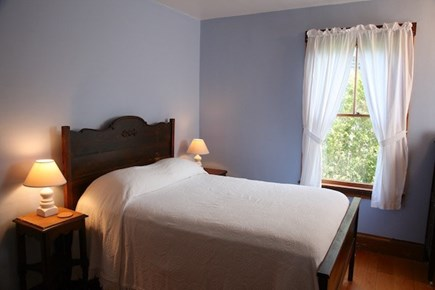 Vineyard Haven Martha's Vineyard vacation rental - Butler (Bed 4): Double bedroom on ground floor, with sink
