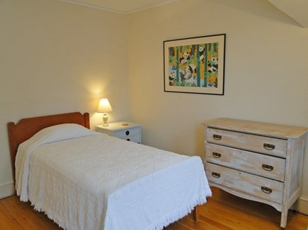 Vineyard Haven Martha's Vineyard vacation rental - Swift (Bed 5): single bed upstairs on north side, with sink