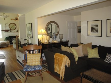 Edgartown Martha's Vineyard vacation rental - Family room