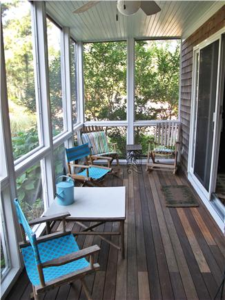 Edgartown Martha's Vineyard vacation rental - Enclosed porch off family room and master bedroom.