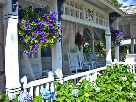 Oak Bluffs Martha's Vineyard vacation rental - Front wrap-around porch