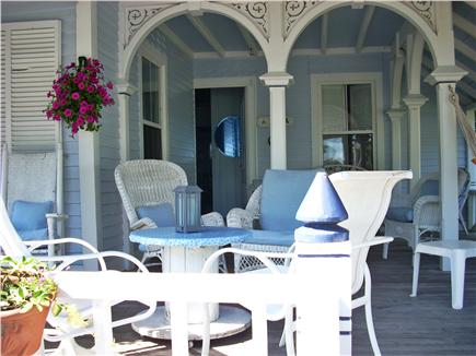 Oak Bluffs Martha's Vineyard vacation rental - Front porch