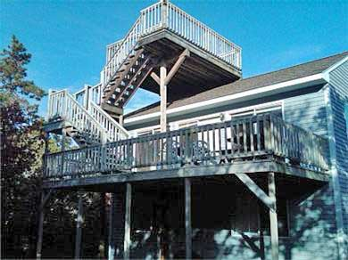 Edgartown Martha's Vineyard vacation rental - Enjoy the sun and the stars from either of the two decks