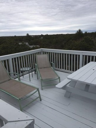 Edgartown Martha's Vineyard vacation rental - Rooftop deck with picnic table / great for star gazing at night.