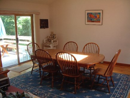 West Tisbury, Longview Community Martha's Vineyard vacation rental - Dining space part of open grand space