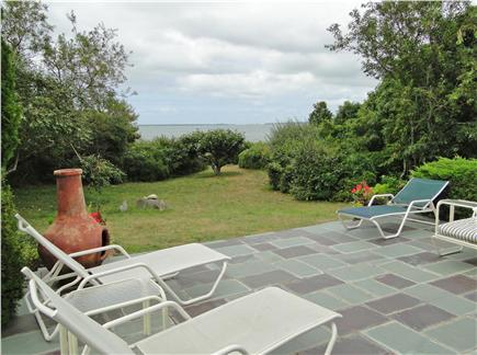 West Tisbury Martha's Vineyard vacation rental - View from the patio, 2 minute walk to beach!