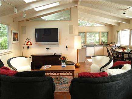 West Tisbury Martha's Vineyard vacation rental - Bright and comfortable living area