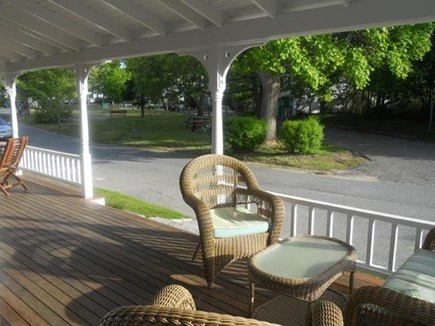 Oak Bluffs Martha's Vineyard vacation rental - View of park from front porch