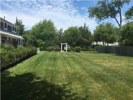 Oak Bluffs Martha's Vineyard vacation rental - Large yard