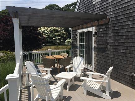 Oak Bluffs Martha's Vineyard vacation rental - Large Deck with Pergola