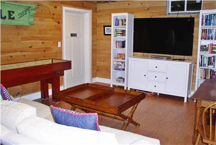 Oak Bluffs Martha's Vineyard vacation rental - Game Room (Basement)