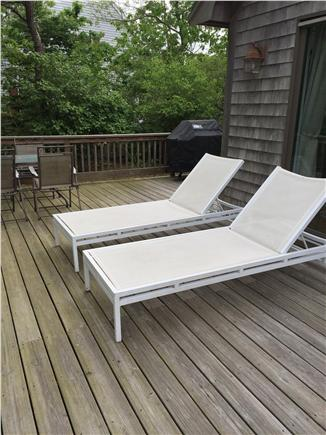 Edgartown Martha's Vineyard vacation rental - Relax on the deck