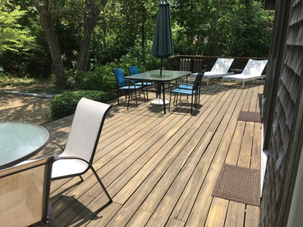Edgartown Martha's Vineyard vacation rental - Plenty of space to relax on the deck