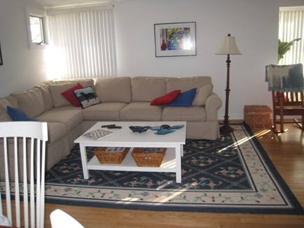 Vineyard Haven Martha's Vineyard vacation rental - Front of living room flows from dining room