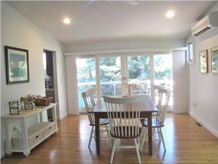 Vineyard Haven Martha's Vineyard vacation rental - Dining room with sliding doors to deck