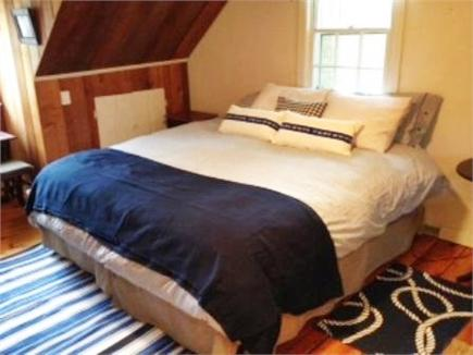 Vineyard Haven Martha's Vineyard vacation rental - Second floor king bed with nautical theme