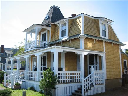 Oak Bluffs Martha's Vineyard vacation rental - House from the right with parking
