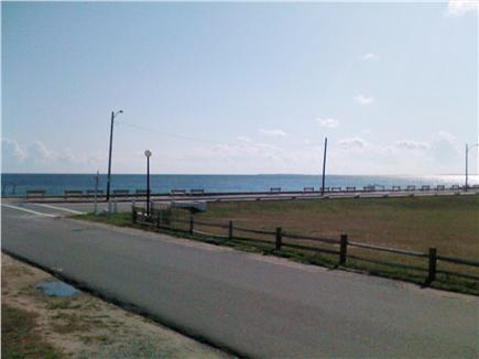 Oak Bluffs Martha's Vineyard vacation rental - View from porch of the park and Nantucket Sound