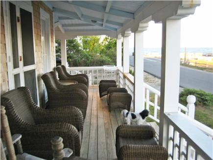 Oak Bluffs Martha's Vineyard vacation rental - Wraparound Porch offers views of Nantucket Sound