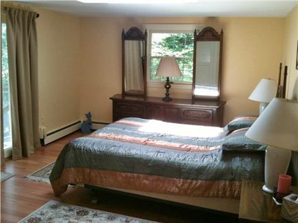 Oak Bluffs Martha's Vineyard vacation rental - Master bed (upstairs)