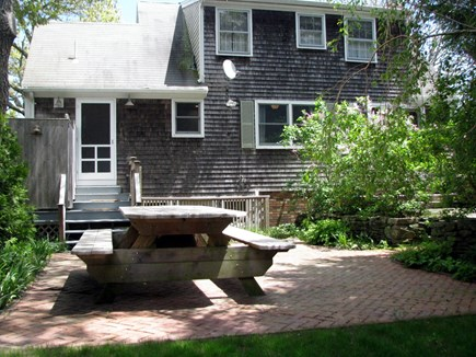 Edgartown Village  Martha's Vineyard vacation rental - Large Patio w/picnic table