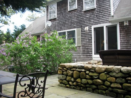 Edgartown Village  Martha's Vineyard vacation rental - Upper Terrace w/dining set and Deck w/seating