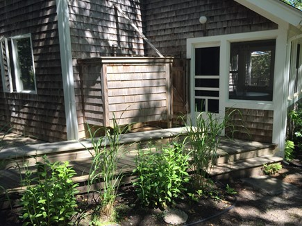 Edgartown Martha's Vineyard vacation rental - Outdoor shower!