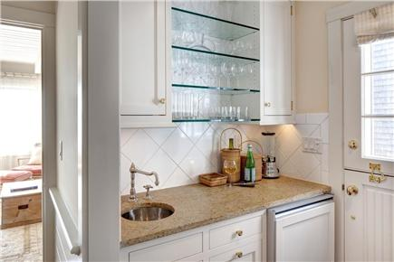Edgartown Martha's Vineyard vacation rental - Convenient wet bar