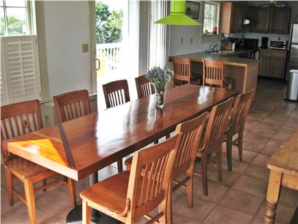 Katama - Edgartown, edgartown Martha's Vineyard vacation rental - Dining Table for 10