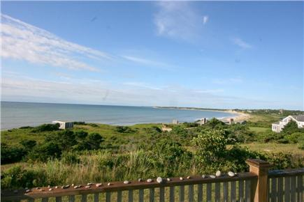 Stonewall Beach, Chilmark Martha's Vineyard vacation rental - View from front/right terrace.