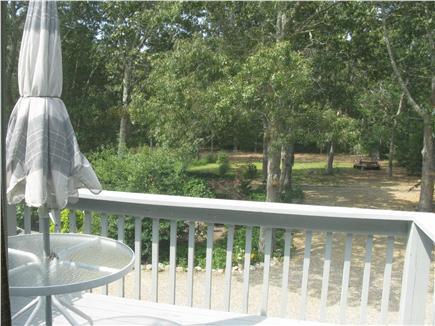 Oak Bluffs Martha's Vineyard vacation rental - Sunny deck  with view of flower garden