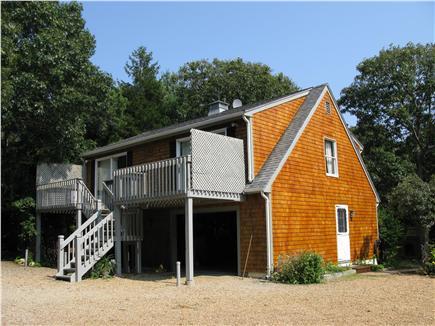 Oak Bluffs Martha's Vineyard vacation rental - Back deck of upstairs apartment