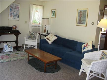 Oak Bluffs Martha's Vineyard vacation rental - Comfortable living room with access to deck