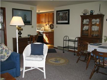 Oak Bluffs Martha's Vineyard vacation rental - Open living and dining area with view to kitchen