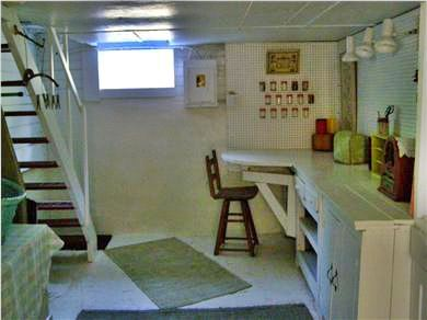 Oak Bluffs Martha's Vineyard vacation rental - Downstairs studio or office space cool and clean
