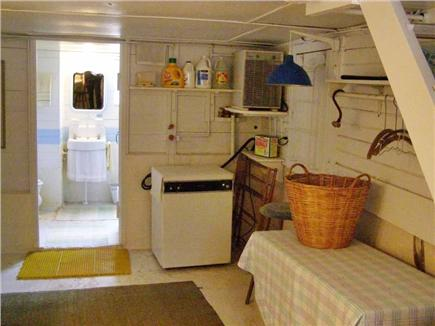 Oak Bluffs Martha's Vineyard vacation rental - Downstairs laundry & bathroom
