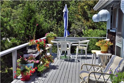 Oak Bluffs Martha's Vineyard vacation rental - Wonderful deck, relax and enjoy!