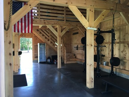 Katama - Edgartown Martha's Vineyard vacation rental - exercise equipment along with personal training by appointment